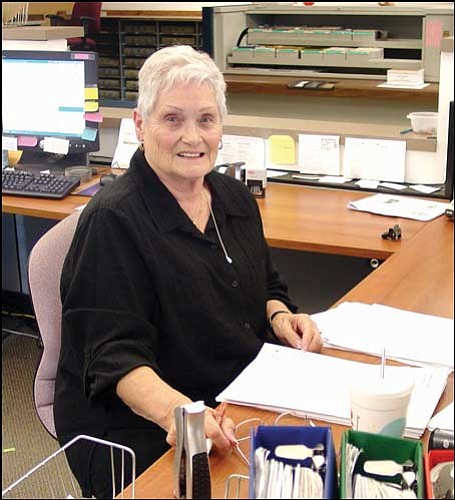 Courtesy County Recorder Joan McCall is leaving office after serving in the position for 36 years.