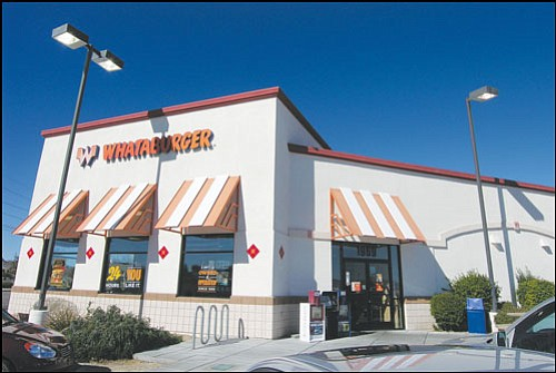JAMES CHILTON/Miner The Whataburger at 1969 Beverly Ave. mere hours before it & Whatasurprise: Restaurant shuts doors | Kingman Daily Miner ...