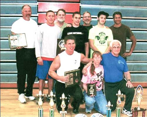 Courtesy Heavy Metal Gym lifters show off their awards after winning the Natural Athlete Strength Association 2009 Arizona State Championships in Mesa on Feb. 7.