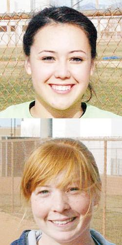 Top: Tara Chavez; Bottom: McKenzie Overson