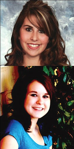 Top: Tylee Rickett; Bottom: Sarah Snelling