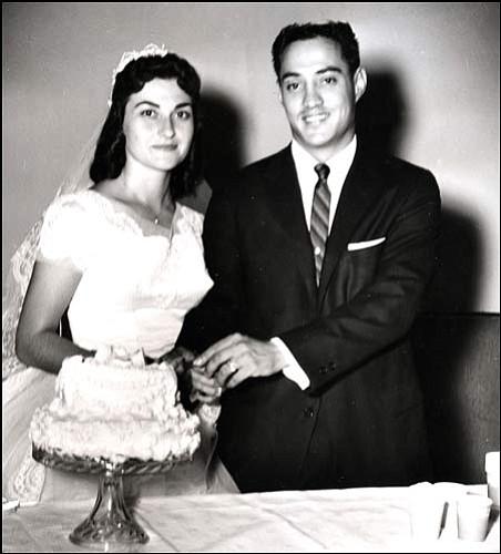 Bob and Pat Olivas 1959