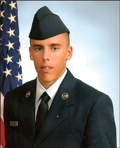 Airforce Airman Brandon A. Steward