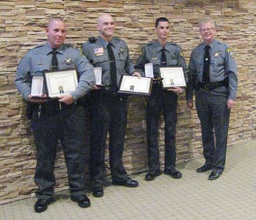 Lifesavers honored for actions | Kingman Daily Miner