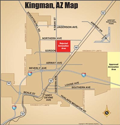 Kingman Proposed Annexation Map