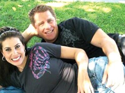 Michelle Marie Casarez and Bill Brandt