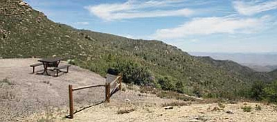 JC AMBERLYN/Miner <br> Improvements may be made soon at Hualapai Mountain Park due to grant funds received by the county.