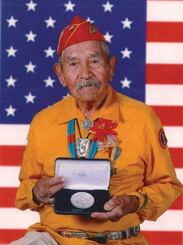 Courtesy<br /><br /><!-- 1upcrlf2 -->Missionary, pastor, father and World War II Code Talker Lemuel B. Yazzie died May 28.