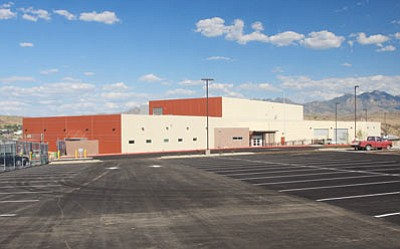 JC AMBERLYN/Miner -- The new county jail has received its Certificiate of Occupancy from the city of Kingman.<br /><br /><!-- 1upcrlf2 --><br /><br /><!-- 1upcrlf2 -->