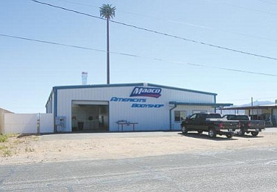 JAMES CHILTON/Miner<br /><br /><!-- 1upcrlf2 -->The MAACO Collision Repair and Auto Painting store at the corner of Gordon Drive and Arizona Street will be opening this week.