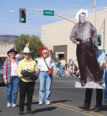 JC AMBERLYN/Miner<br /><br /><!-- 1upcrlf2 -->Andy Devine may or may not make an appearance at this Saturday's 40th annual parade named in his honor.
