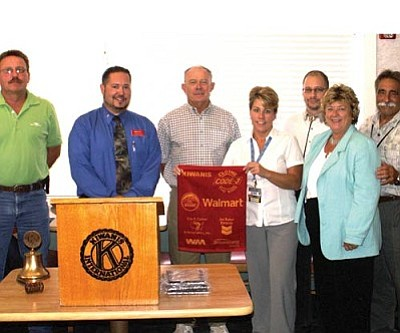 Courtesy<br /><br /><!-- 1upcrlf2 -->Code 3 – Clothe the Kids sponsors recognized at the Kiwanis luncheon included KRMC, Walmart, Erin P. Collins & Associates, Waste Management and the Lions Club.