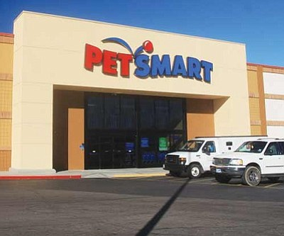 JC AMBERLYN/Miner<br /><br /><!-- 1upcrlf2 -->PetSmart's grand opening is Saturday. The store is located at 3260 Stockton Hill Road.
