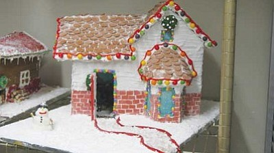 Courtesy<br /><br /><!-- 1upcrlf2 -->This gingerbread house made by Chef Michael Gaul's culinary arts students are just a sample of the kind of entries Gaul is hoping to get in his Gingerbread Mania contest Dec. 3.