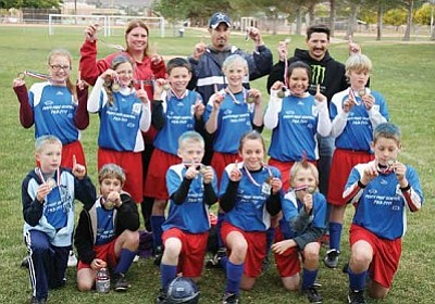 Courtesy<br /><br /><!-- 1upcrlf2 -->The under-12 Pesty Pest Control defended their top seed to win the division in Northern Arizona Youth Soccer League Saturday at Centennial Park.