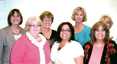 Courtesy<br /><br /><!-- 1upcrlf2 -->Women Making History Committee members pictured, from left, back row: Debbie Burnham-Kidwell, Krystal Burge, Betsy Parker and Sandi Minkler; front row: Kathy Cook, Brenda Sumner and Pat Mullen. Not pictured: Lyndal Byram.