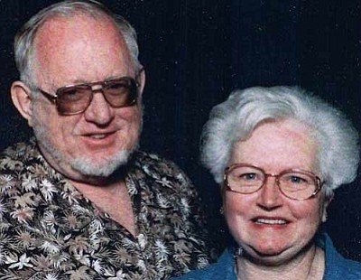 Leslie Rieck (& wife Grace)