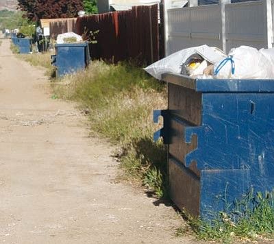 Courtesy<br /><br /><!-- 1upcrlf2 -->With trash overflowing on a weekly basis, answers for Kingman need to be found. But what are they?