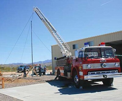 JC AMBERLYN/Miner<br /><br /><!-- 1upcrlf2 -->The Golden Valley Fire Station