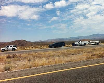 """Courtesy<br /><br /><!-- 1upcrlf2 -->Arizona Department of Transportation's Highway 68 commercial vehicle checkpoint on the west end of Golden Valley has results in travelers being stopped who didn't consider their vehicles to be """"commercial."""""""