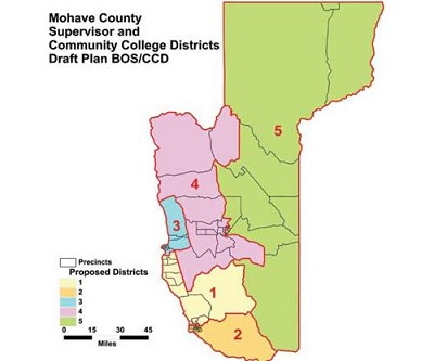 Re Districting >> Proposed redistricting maps released | Kingman Daily Miner | Kingman, AZ