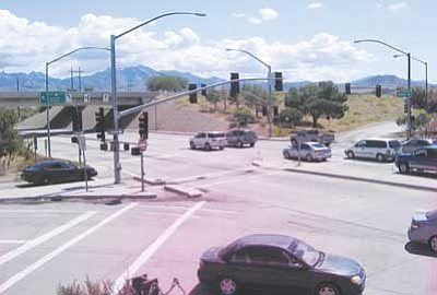 AHRON SHERMAN/Miner<br /><br /><!-- 1upcrlf2 -->The interchange at Interstate 40 and U.S. 93, which often stacks up with traffic, could possibly get a facelift and a companion interchange in the coming years.<br /><br /><!-- 1upcrlf2 -->
