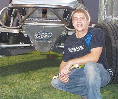 A recent motorcycle accident left 20-year-old Gregory Cook paralyzed from the waist down.<br /><br /><!-- 1upcrlf2 -->Courtesy<br /><br /><!-- 1upcrlf2 --><br /><br /><!-- 1upcrlf2 -->
