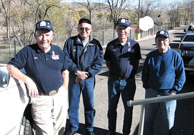 Courtesy<br> Pictured (left to right) are John Boersma, Robert Ellis, Roger Christianson and Jim Gaily