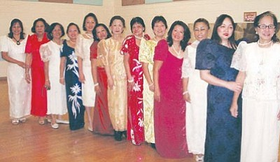 Courtesy<br><br> Pictured from left: Hennie, Wilma, Cleo, Mila, Armi, Edith, Emy, Myrna, Nilda, Leni, Rio, Jennifer and Auring.