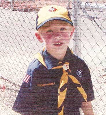 Hicks Family/Courtesy<br /><br /><!-- 1upcrlf2 -->Kaylab Hicks was a Cub Scout for a year before his death. His troop raised more than $2,000 for his funeral expenses.