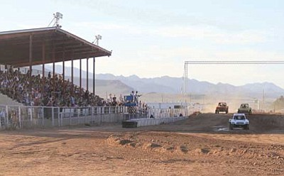 JC AMBERLYN/Miner<br /><br /><!-- 1upcrlf2 -->The Off Road Arizona Short Course Championship Series, held in June last year, is one of many events held at the Mohave County Fairgrounds.