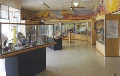 AHRON SHERMAN/Miner<br /><br /><!-- 1upcrlf2 -->The original display room at the Mohave Museum of History & Arts will be dedicated to its developer, Roy Purcell, on Saturday, and an event that shows the relationship between the museum and the Hualapai Tribe will take place.