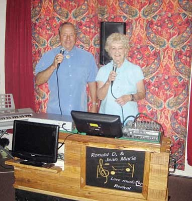 Suzanne Adams-Ockrassa/Miner<br /><br /><!-- 1upcrlf2 -->Ron Lodge and Jean Palmer of Love Music Revival.
