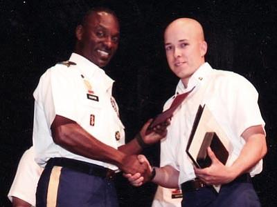 Specialist Matthew A. Cardeccia (right)