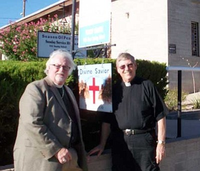 Courtesy<br /><br /><!-- 1upcrlf2 -->Pictured are Fr. Phil Shaw, left, and Fr. Leonard Walker.