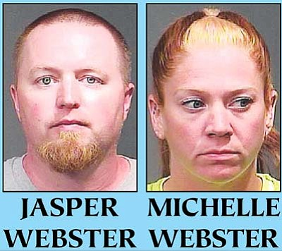 Jasper Ian Webster and Michelle Renee Webster