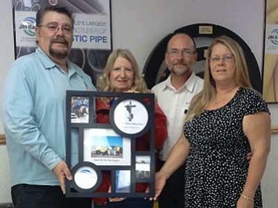 Courtesy<br> Pictured from left are Michael Kenny Sr., Sharon Ann Nott, Bruce Bollinger and Dottie Bollinger.