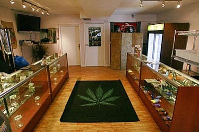 Marijuana dispensaries similar to the one pictured here will be opening across Arizona if the requirements of state law can be satisfied.