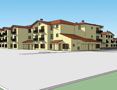 A groundbreaking for a new assisted living center will take place Wednesday.<BR>Courtesy