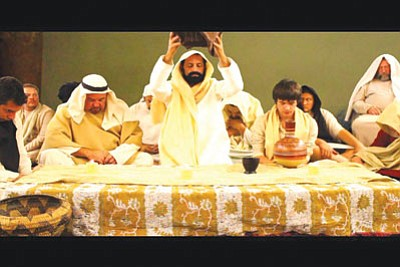 """A production still from """"Saviour: Story of Sacrifice,"""" a film about Jesus Christ made by the Golden Valley Baptist Church.<BR>Courtesy"""