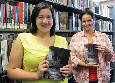 "KIM STEELE/Miner<br /><br /><!-- 1upcrlf2 -->Alexandria Smith, left, and her mother, Adelita Smith, display the abridged and complete volumes of ""The Broke Ones Vol. 2 Complete Version: Shadow of Memories."" Their poetry and photographs were recently published in the books."