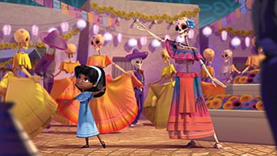 """Scene from """"Dia de los Muertos"""" show the film's main character, a little girl whose mother died, learning to celebrate the Mexican holiday that honors the dead. <br /><br /><!-- 1upcrlf2 -->"""