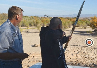 Jeff Pebworth, the wildlife program manager for the Arizona Game and Fish Region 3 office in Kingman, will present the History of Archery Friday evening in the final installment of this year's Summer Wildlife Series. (Courtesy)