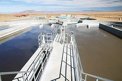 The $35 million Hilltop Wastewater Treatment Facility upgrade has prompted the Kingman City Council to enact an ordinance designed to protect the facility and its employees. (Miner)