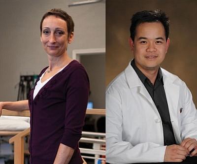 L: Gretchen Hildner<br /><br /><!-- 1upcrlf2 -->R: Dr. Ngo