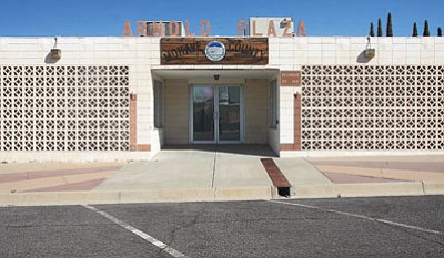 The Mohave County-owned Arnold Plaza building in downtown Kingman has so many issues, the county hasn't been able to unload it. (JC AMBERLYN/Miner)