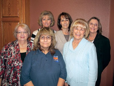 Courtesy<br /><br /><!-- 1upcrlf2 -->Women Making History committee members include, from left: back row, Betsy Parker, Terri Chavez and Debbie Burnham-Kidwell; front row, Kathy Cook, Pat Mullen and Sandi Minkler. Krystal Burge and Lyndal Byram are not pictured.