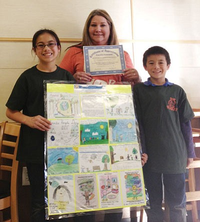 Courtesy<BR>A total of 389 posters and essays were collected from multiple classrooms in several local schools from kindergarten through fifth grade.
