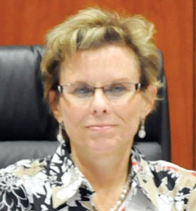 Mohave County Board of Supervisors Chairman Hildy Angius, District 2