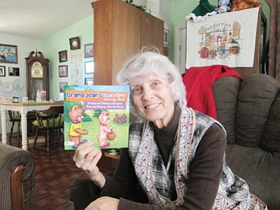 Kingman resident Jean Chowhan, AKA Grama Jean, has published a children's book with a Christian message. (DOUG McMURDO/Miner)